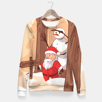 Thumbnail image of Christmas New Year - Sweater woman, Live Heroes