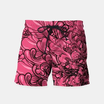 Thumbnail image of Pink Flower Swim Shorts, Live Heroes