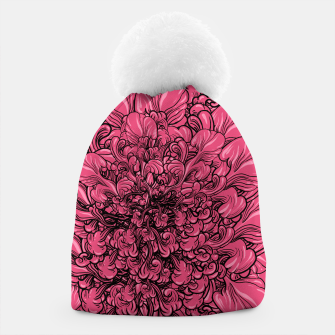 Thumbnail image of Pink Flower Beanie, Live Heroes
