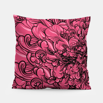 Thumbnail image of Pink Flower Pillow, Live Heroes