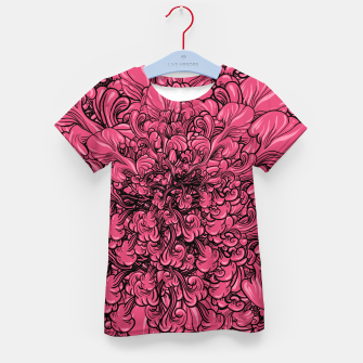 Thumbnail image of Pink Flower Kid's T-shirt, Live Heroes