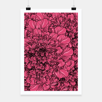 Thumbnail image of Pink Flower Poster, Live Heroes