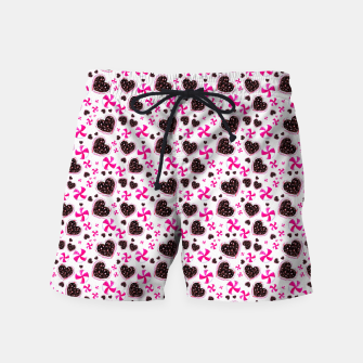 Miniaturka Holiday Candies - White Swim Shorts, Live Heroes