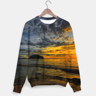 Thumbnail image of Beautiful coast at sunset Sweater, Live Heroes