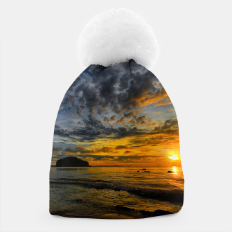 Thumbnail image of Beautiful coast at sunset Beanie, Live Heroes