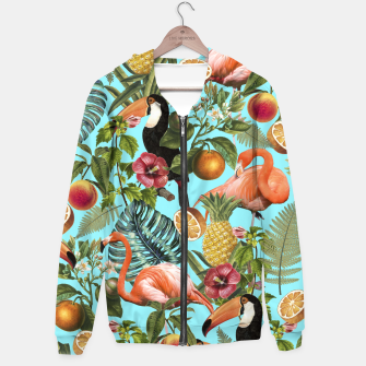 Thumbnail image of The Tropics v2 Hoodie, Live Heroes
