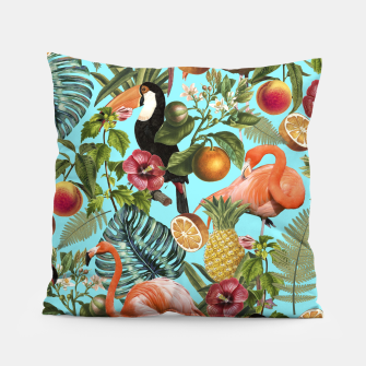 The Tropics v2 Pillow Bild der Miniatur
