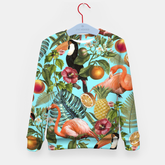 The Tropics v2 Kid's Sweater Bild der Miniatur