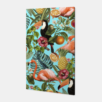 The Tropics v2 Canvas Bild der Miniatur