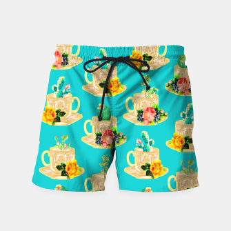 Thumbnail image of High Tea Swim Shorts, Live Heroes