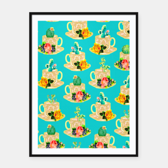 Thumbnail image of High Tea Framed poster, Live Heroes