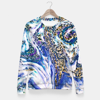 Thumbnail image of Blue Acid Fitted Waist Sweater, Live Heroes