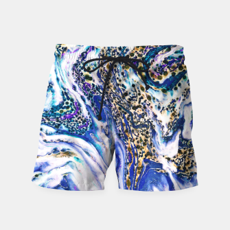 Thumbnail image of Blue Acid Swim Shorts, Live Heroes
