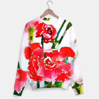 Thumbnail image of Red Blossom V2 Sweater, Live Heroes