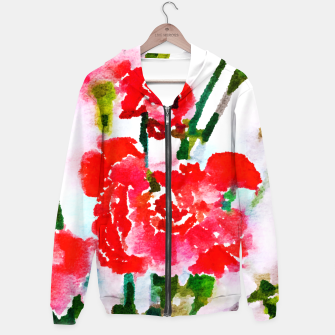 Thumbnail image of Red Blossom V2 Hoodie, Live Heroes