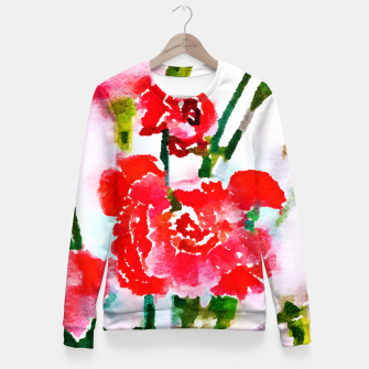 Thumbnail image of Red Blossom V2 Fitted Waist Sweater, Live Heroes