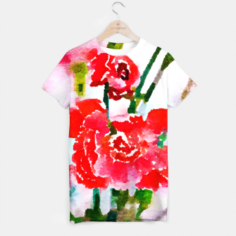 Thumbnail image of Red Blossom V2 T-shirt, Live Heroes