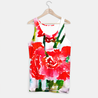 Thumbnail image of Red Blossom V2 Tank Top, Live Heroes