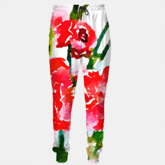 Thumbnail image of Red Blossom V2 Sweatpants, Live Heroes