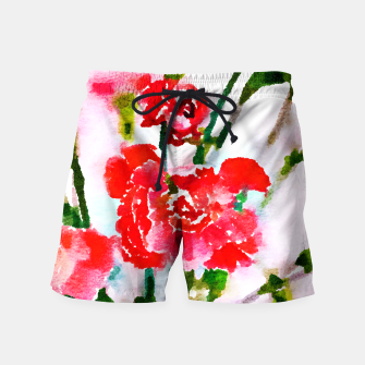 Thumbnail image of Red Blossom V2 Swim Shorts, Live Heroes