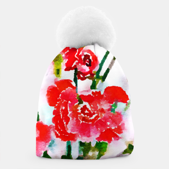 Thumbnail image of Red Blossom V2 Beanie, Live Heroes