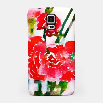 Thumbnail image of Red Blossom V2 Samsung Case, Live Heroes
