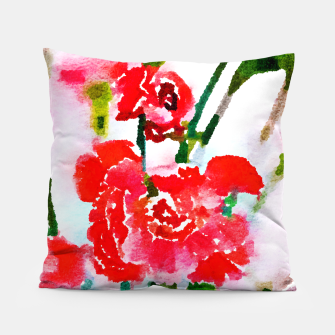 Thumbnail image of Red Blossom V2 Pillow, Live Heroes