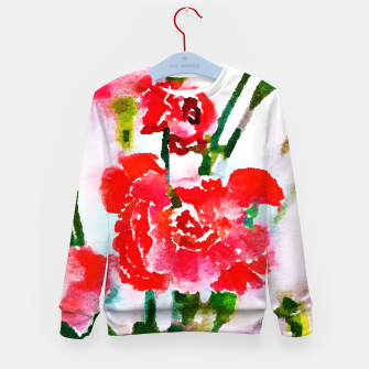 Thumbnail image of Red Blossom V2 Kid's Sweater, Live Heroes
