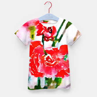 Thumbnail image of Red Blossom V2 Kid's T-shirt, Live Heroes
