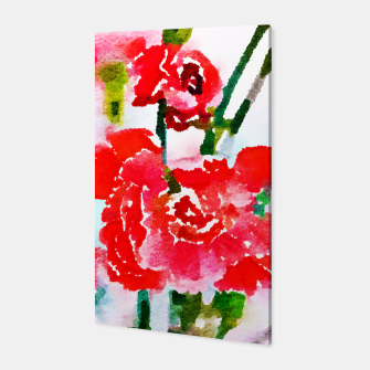 Thumbnail image of Red Blossom V2 Canvas, Live Heroes