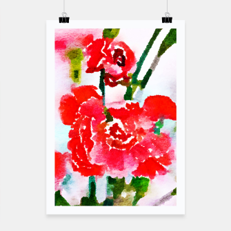 Thumbnail image of Red Blossom V2 Poster, Live Heroes