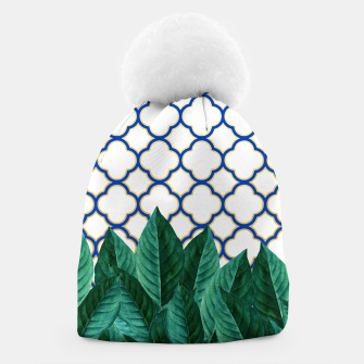 Thumbnail image of Leaves and Tiles Beanie, Live Heroes