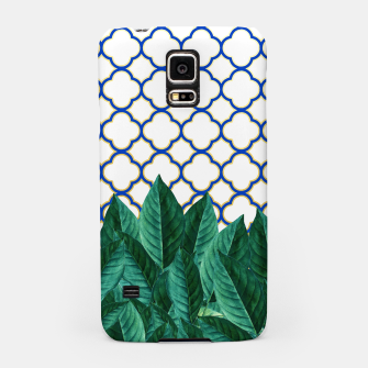Thumbnail image of Leaves and Tiles Samsung Case, Live Heroes