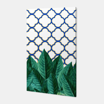 Thumbnail image of Leaves and Tiles Canvas, Live Heroes
