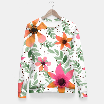Thumbnail image of Autumn Flora Fitted Waist Sweater, Live Heroes