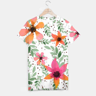 Thumbnail image of Autumn Flora T-shirt, Live Heroes