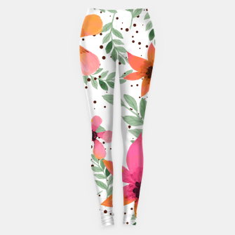 Thumbnail image of Autumn Flora Leggings, Live Heroes