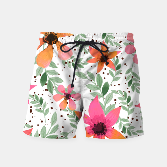 Thumbnail image of Autumn Flora Swim Shorts, Live Heroes