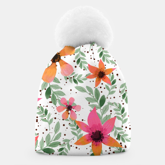 Thumbnail image of Autumn Flora Beanie, Live Heroes