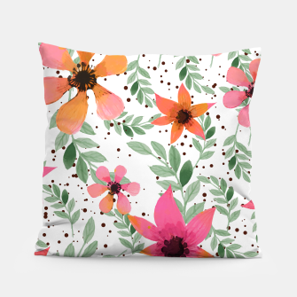 Thumbnail image of Autumn Flora Pillow, Live Heroes
