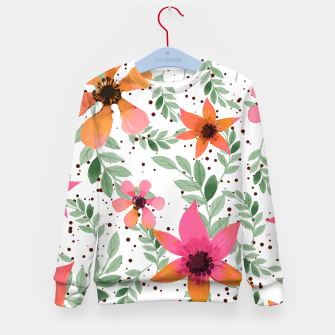 Thumbnail image of Autumn Flora Kid's Sweater, Live Heroes