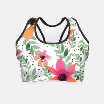 Thumbnail image of Autumn Flora Crop Top, Live Heroes