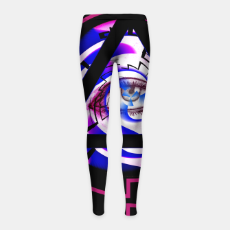 Miniature de image de they're watching boo 2 Girl's Leggings, Live Heroes
