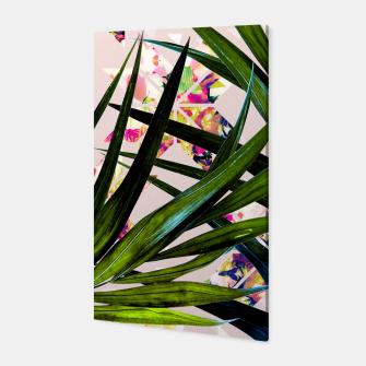 Thumbnail image of Leaves on mosaic Canvas, Live Heroes