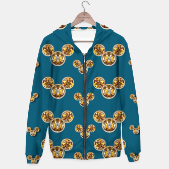 Thumbnail image of This is a wood cartoon circle mouse Hoodie, Live Heroes