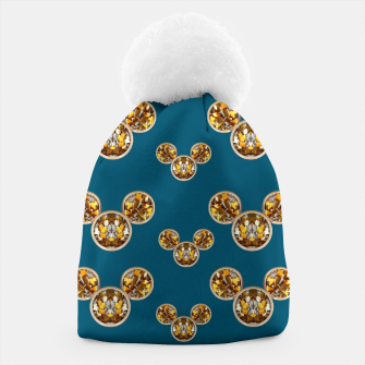 Thumbnail image of This is a wood cartoon circle mouse Beanie, Live Heroes