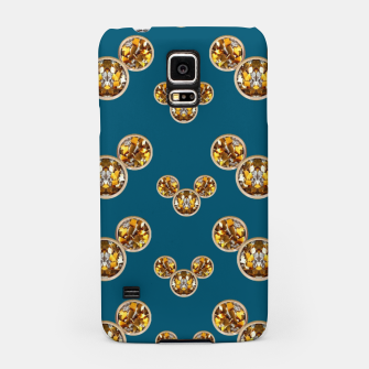 Thumbnail image of This is a wood cartoon circle mouse Samsung Case, Live Heroes