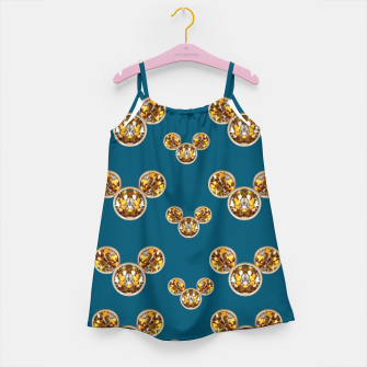 Thumbnail image of This is a wood cartoon circle mouse Girl's Dress, Live Heroes
