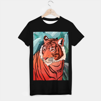 Miniatur Tiger in the jungle T-shirt regular, Live Heroes