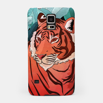 Miniatur Tiger in the jungle Samsung Case, Live Heroes